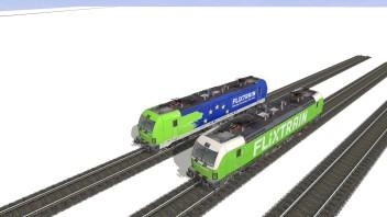 Flixtrain Vectron Pack - Trainz.de