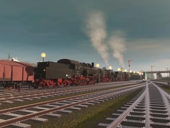 Ein, zwei, drei Züge