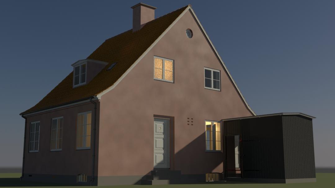 Bedre Byggeskik - House type F, single