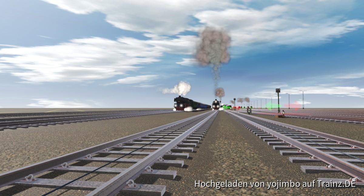 Neues Projekt: Kreuzungsbahnhof