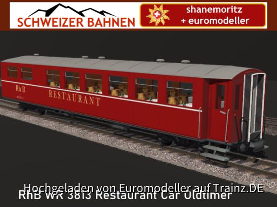 RhB Alter Rest'nt Wr 3813
