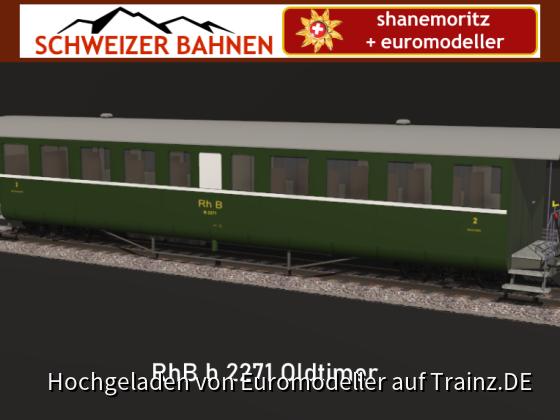 RhB B 2271 Oldtimer