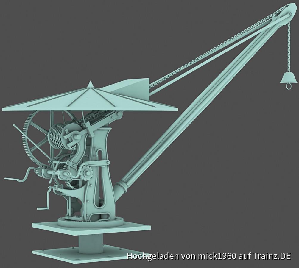 Harbour crane / Hafenkran Heilbronn 1845