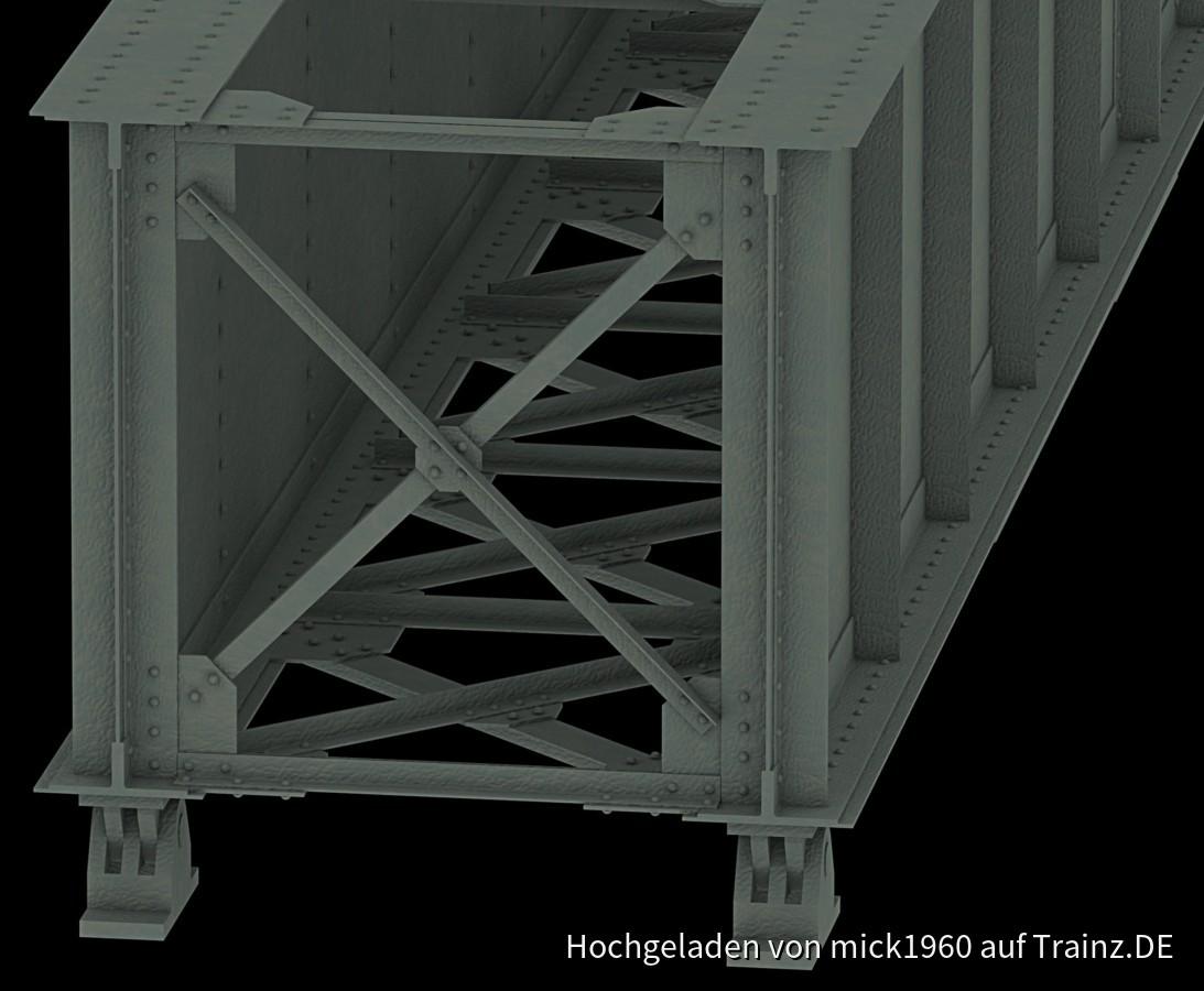 Girder Plate Bridge/Blechtraegerbruecke