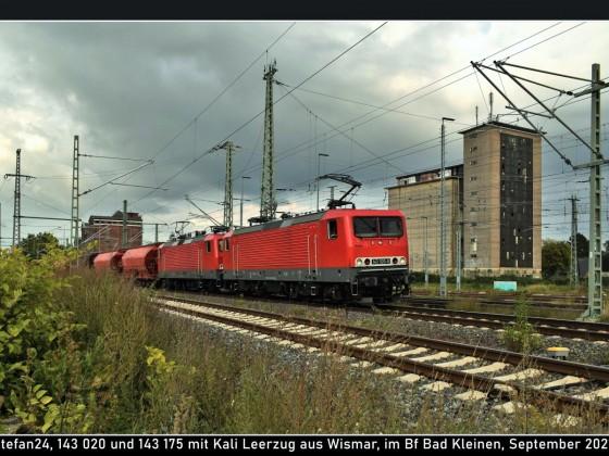 SRS 143 020 und 175 in Bad Kleinen