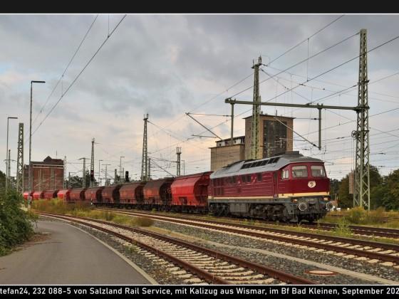 SRS 232 088 in Bad Kleinen