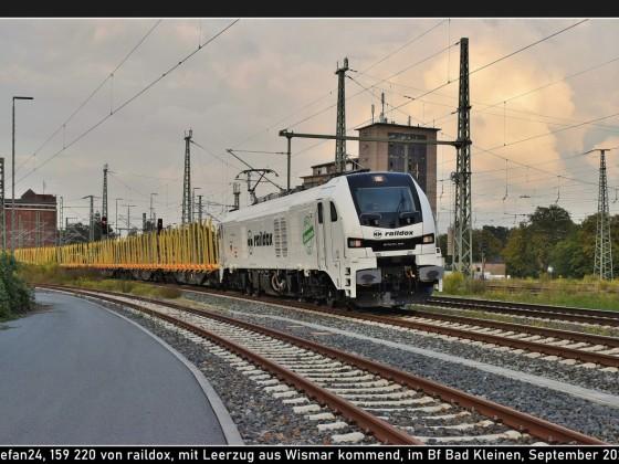 raildox 159 220 in Bad Kleinen