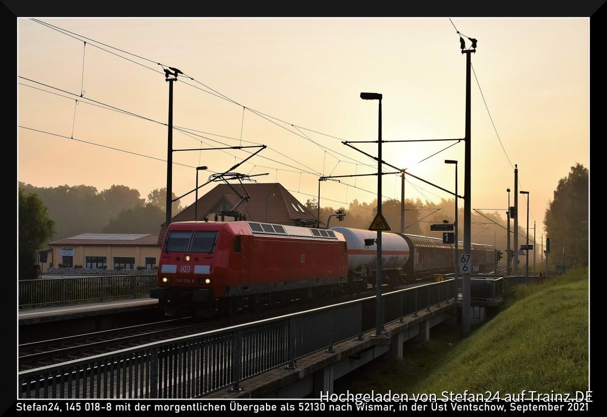 DB Cargo 145 Üst Ventschow