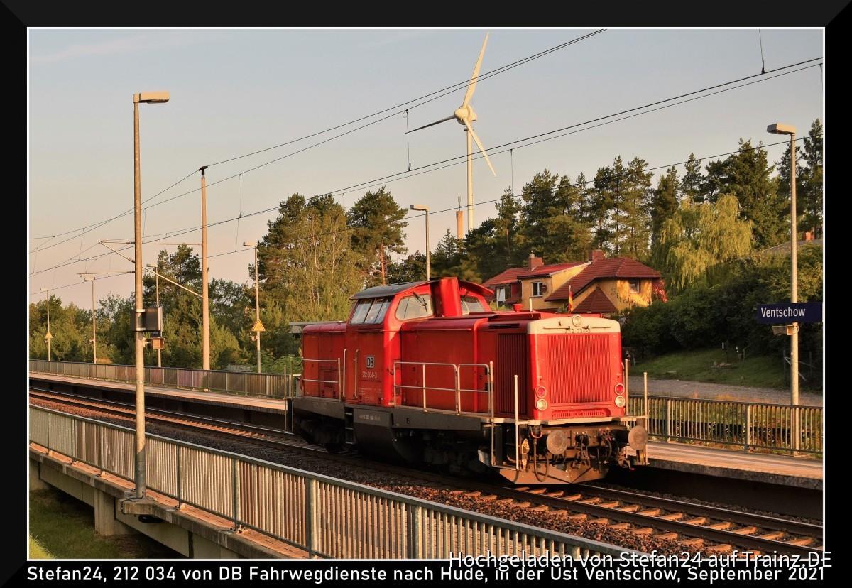 DB 212 Üst Venschow
