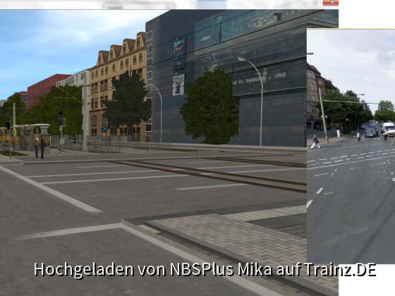 Die Kreuzung Seestraße/Müllerstraße