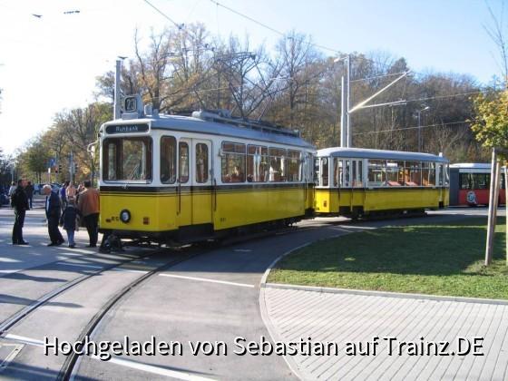 Tram II beim Fernsehturm