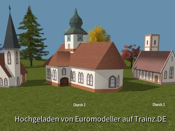 Churches 1 - 2 - 3