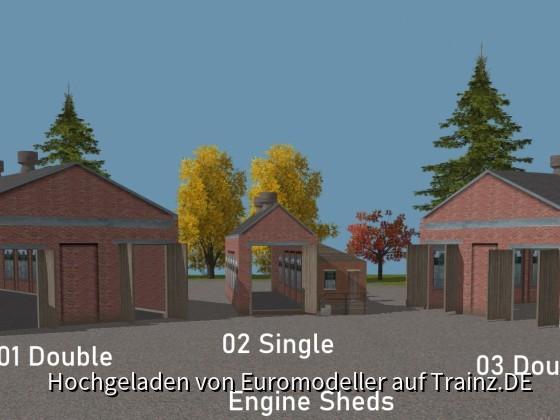 Engine Sheds 01, 02, 03
