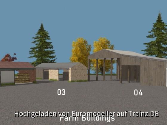 Farm Buildings 02, 03, 04