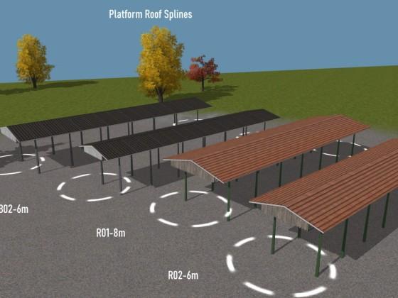 Platform Roof Splines