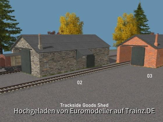 Trackside Goods Shed 02 + 03