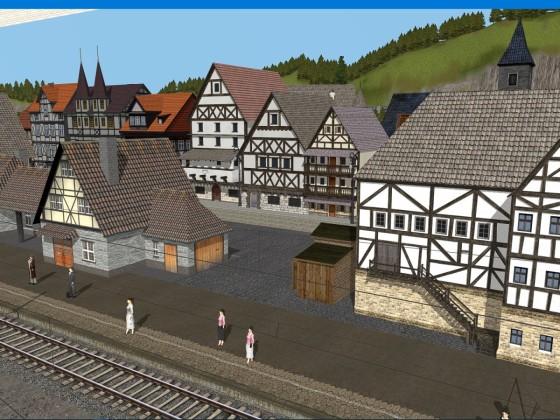 Vierbruecken has a new station.