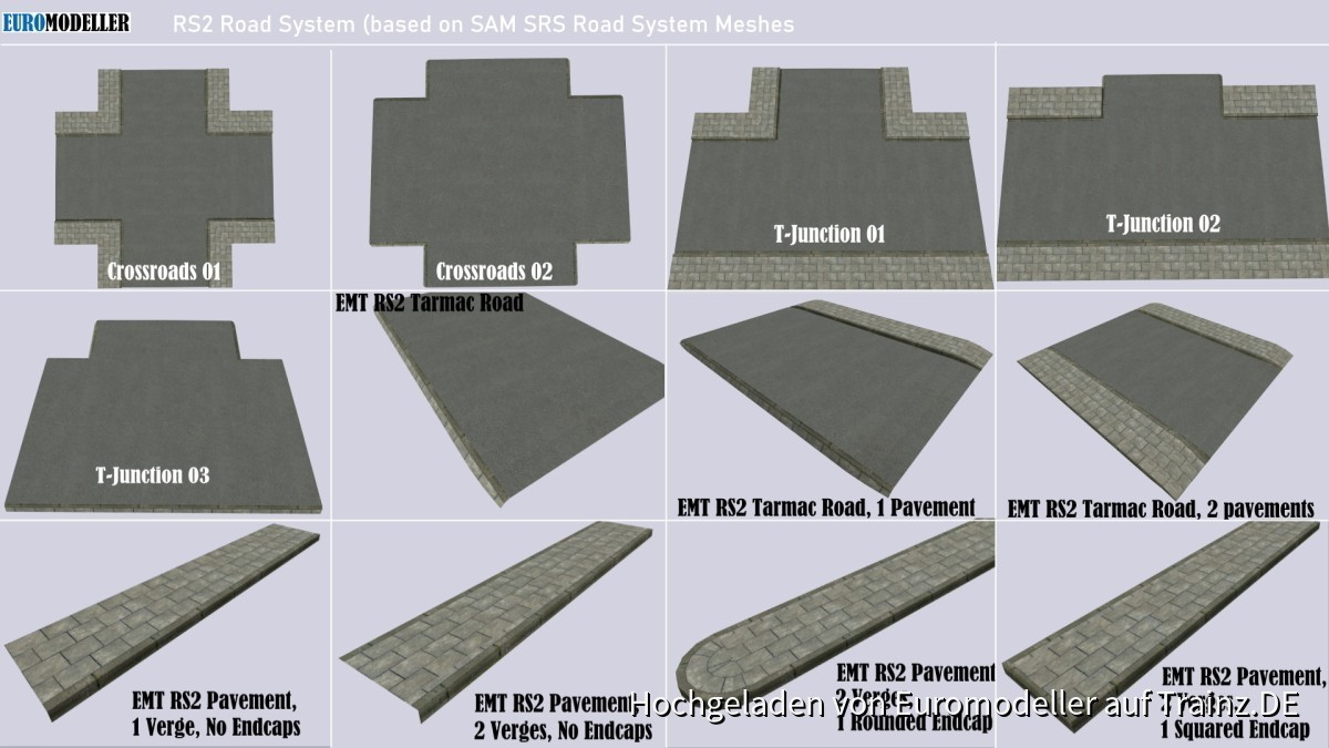 EMT RS2 Road System