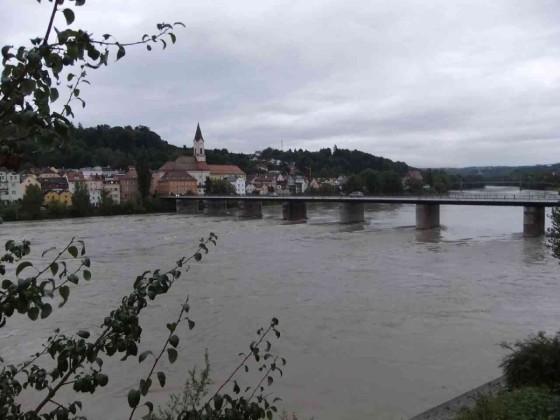 Blick auf die Donau vom Gruppenraum aus