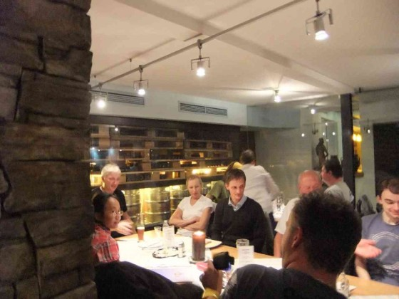 "Im Restaurant ""Innstadt"""
