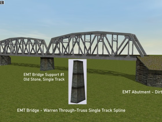 EMT Warren Through Truss Bridge