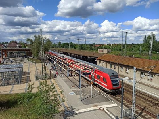 Regionalexpress in Falkenberg