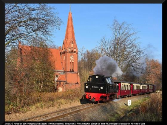 Bäderbahn Molli Heiligendamm 2018