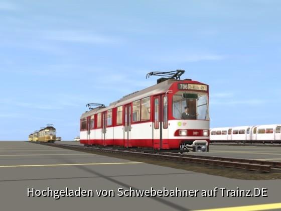 Nie veröffentlichter Krempel - Rheinbahn GT8S