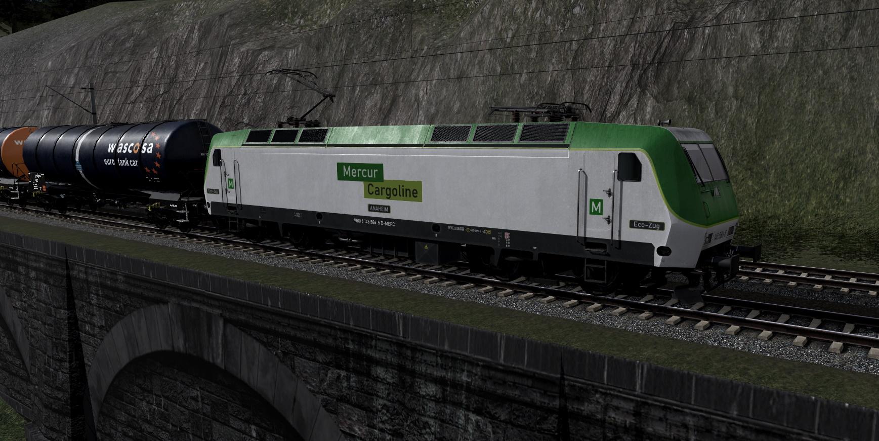 BR 145 Mercur Cargo