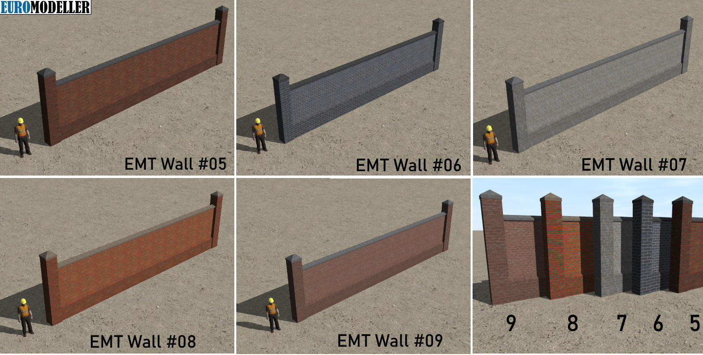 EMT Walls #05 to #09