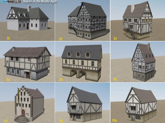EMT Houses of the Middle Ages 01-09a