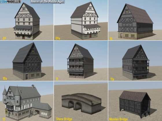 EMT Houses of the Middle Ages 09-12