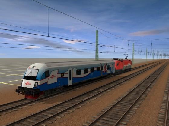 ÖBB RailJet 80-90-711-0 Ski-Alpin Steuerwagen