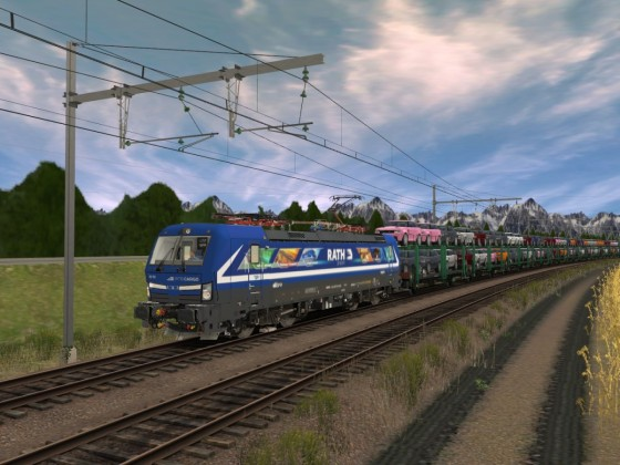 ELL/RTB Cargo 193 793-7 Vectron Rath Gruppe