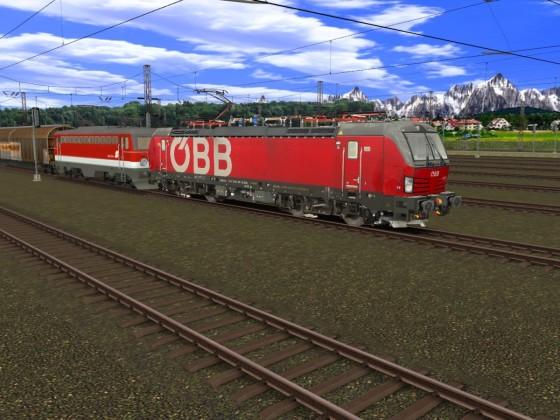 ÖBB Vectron & ÖBB 1042