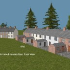 EMT Terraced Houses Row 3a, 4a Rear
