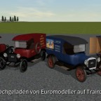 Model TT Parcels Vans