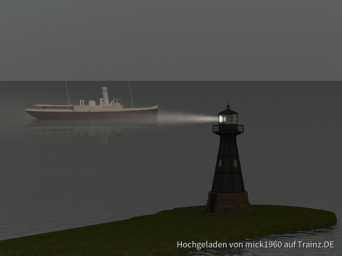 Leuchtbaake zu Neufahrwasser bei Danzig