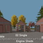 Engine Sheds 01, 02, 03