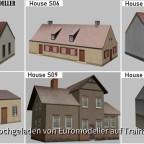 Euromodeller EMT Houses S05 - S10