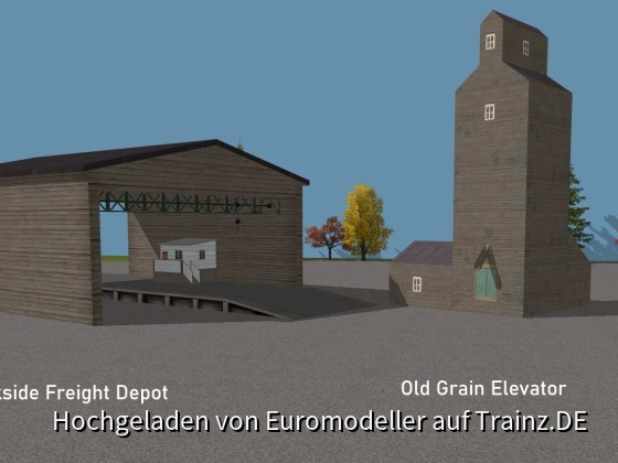Trackside Depot, Grain Elevator