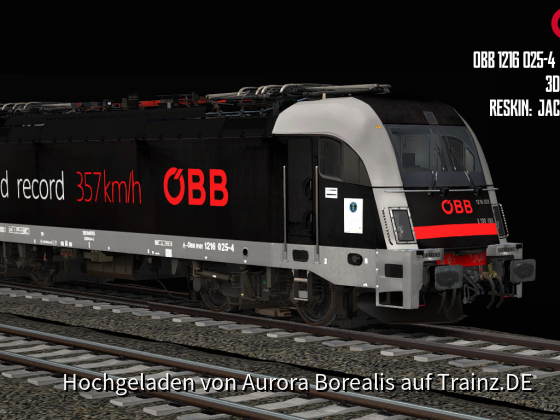 OBB 1216 025-4 World Record