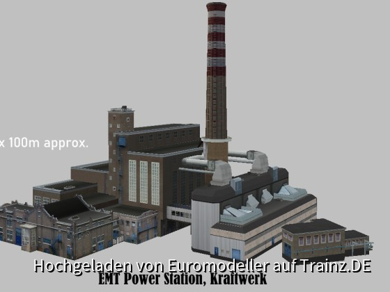 EMT Power Station, Kraftwerk