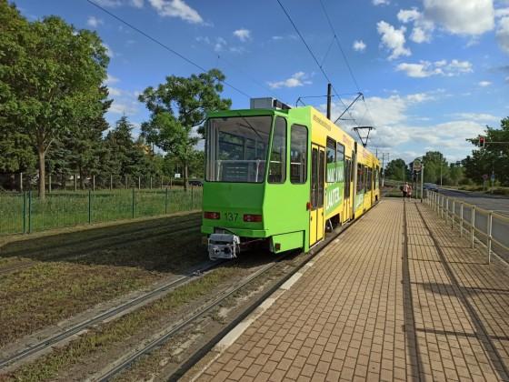 Straßenbahn von Hinten 2