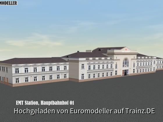 EMT Staion, Hauptbahnhof 01b