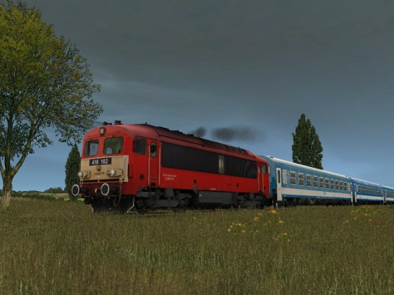 Hungarian Ganz-MAVAG M41 diesel loco