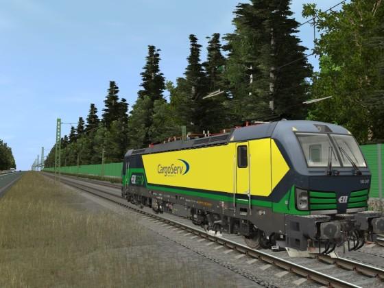 ELL/CargoServ 193 267-2 Vectron