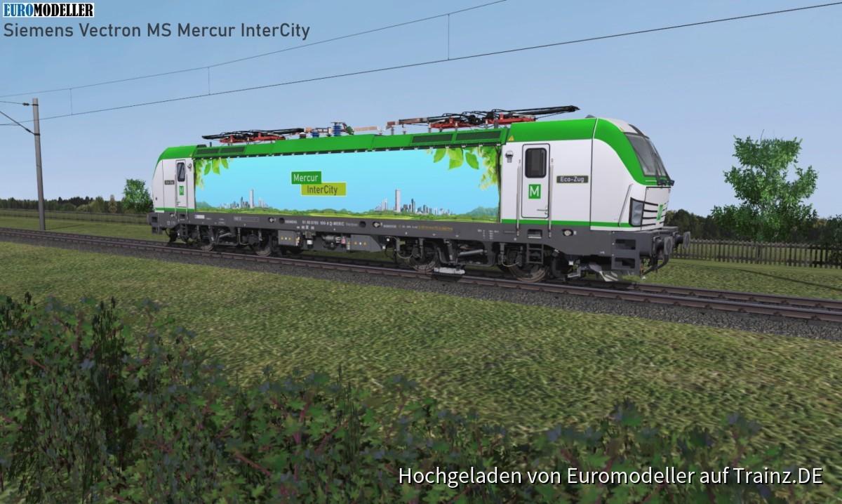 EMT Vectron MS  Mercur InterCity