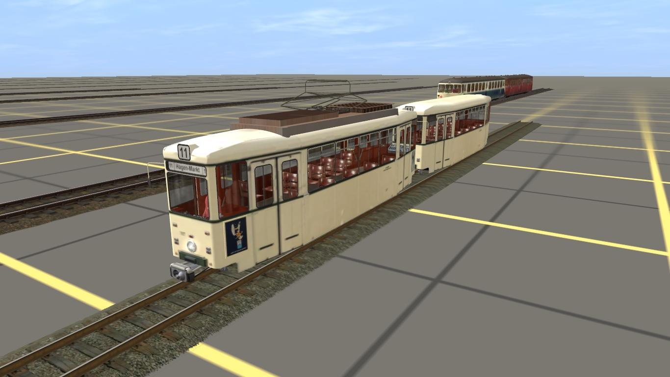 Nie veröffentlichter Krempel - Verbandswagen Hagener Straßenbahn