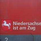 """Aufkleber - """"Niedersachsen ist am Zug"""""""